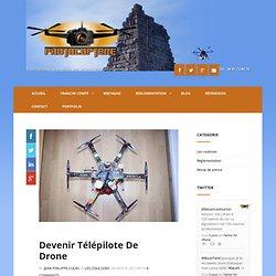 Devenir télépilote de drone - Photocoptere - Photocoptere