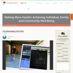 TELEREHABILITATION