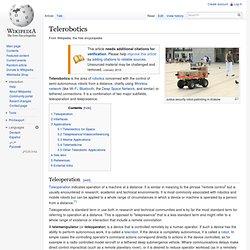 Telerobotics