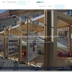 Urban TelesCOOP/Temporary Pavilion