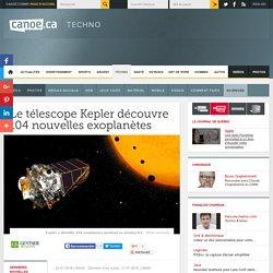 Le télescope Kepler découvre 104 nouvelles exoplanètes
