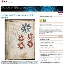 Le plus mystérieux manuscrit du monde