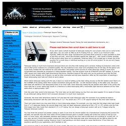Telespar Unistrut Telescopic Square Tubing
