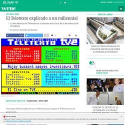El Teletexto explicado a un millennial