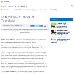 La tecnología al servicio del Teletrabajo