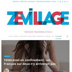 Télétravail en confinement : un Français sur deux n'y arriverait pas