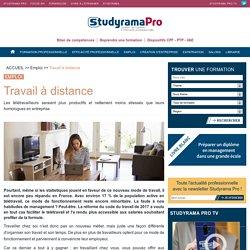 Télétravail - Travail à distance - Studyrama Pro