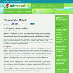 Télétravail chez Michelin - teletravail.fr