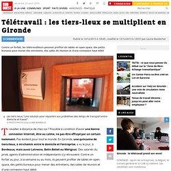 Télétravail : les tiers-lieux se multiplient en Gironde