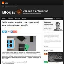 Télétravail et mobilité : une opportunité pour entreprises et salariés