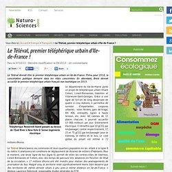 Le Téléval, premier téléphérique urbain d'Ile-de-France !