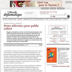 Séries télévisées pour public cultivé, par Dominique Pinsolle et Arnaud Rindel