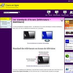 Standards d'écrans - 720p / 1080p - téléviseur Hd - télévision Hd - Moniteur - Écran d'ordinateur