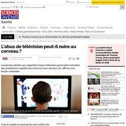L'abus de télévision peut-il nuire au cerveau ? - 4 décembre 2015