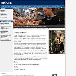 RTÉ Television - Fresh from the Farmers Market