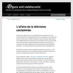 L'affaire de la télévision contaminée