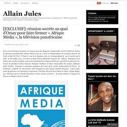 20/11/2014 Projet Fabius faire taire Afrique Media