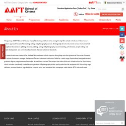 AAFT Film & Television Institute of India, Top Acting Schools in Delhi, Photography Institute