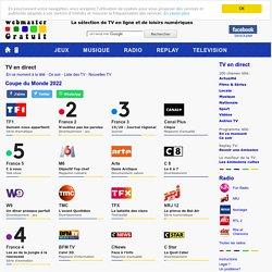Television en ligne : regarder la tele gratuitement
