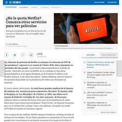 Servicios de televisión parecidos a Netflix - Novedades tecnología