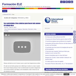 Televisión y vídeo : Formación ELE
