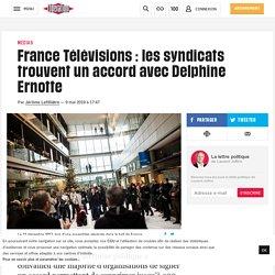 France Télévisions : les syndicats trouvent un accord avec Delphine Ernotte