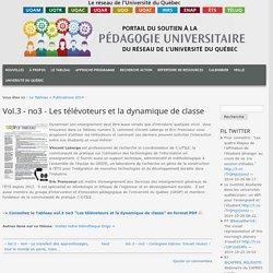 3 - no3 - Les télévoteurs et la dynamique de classe