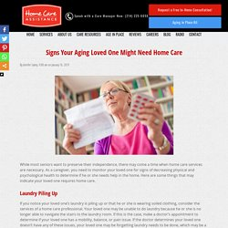 How to Tell if Your Senior Loved One Requires Home Care