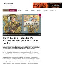 Truth telling – children's writers on the power of war books - Booknotes Unbound