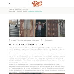 Telling your company story - Pixelo Design
