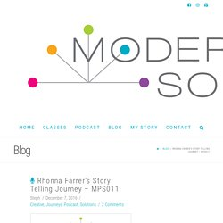 Rhonna Farrer's Story Telling Journey - MPS011 - Modern Photo Solutions
