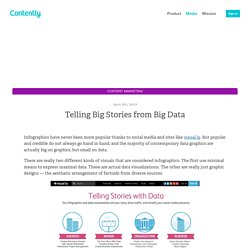 Telling Big Stories from Big Data