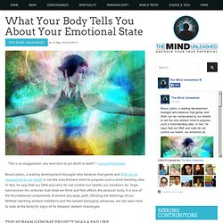What Your Body Tells You About Your Emotional State