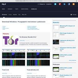 Download Windows - katalog tematyczny Przeglądarki internetowe i pobieranie - IDG.pl