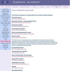 Temenos Academy Links