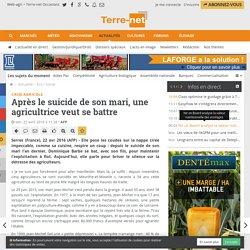 Témoignage sur le suicide des agriculteurs