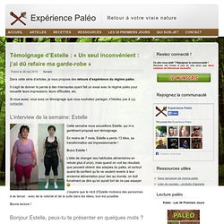 Témoignage d'Estelle : -13 kilos en 7 mois grâce au paléo