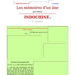 Témoignage de guerre d'Indochine par un soldat du R.I.C.M 1945-1947