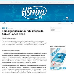 """NO Human right for Xabier Lopez Peña"""