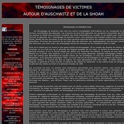TÉMOIGNAGES DE VICTIMES