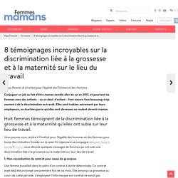 8 témoignages incroyables sur la discrimination liée à la grossesse et à la maternité sur le lieu du travail - Femmes d'Aujourd'hui Mamans