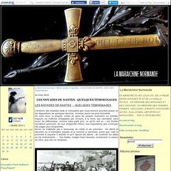 LES NOYADES DE NANTES - QUELQUES TÉMOIGNAGES - La Maraîchine Normande