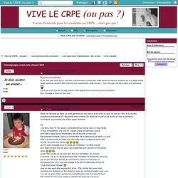 Témoignages oraux arts visuels 2011