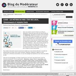 Guide - Les métiers du web : état des lieux, témoignages et perspectives
