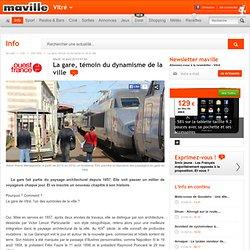 La gare, témoin du dynamisme de la ville - Vitré.maville.com