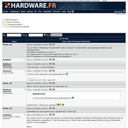 fichier Photoshop Temp521646 - Stockage/Sauvegarde