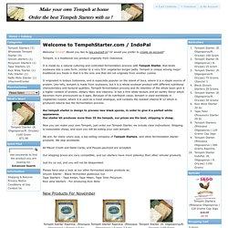 TempehStarter.com / IndoPal
