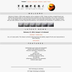 Temper: Home (Angry Red Planet)
