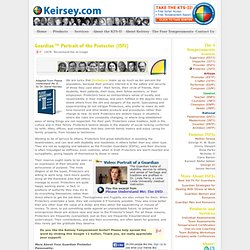 Keirsey Temperament Website - Portrait of the Guardian® Protector (ISFJ)