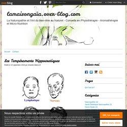 Les Tempéraments Hippocratiques - lamaisongaïa.over-blog.com